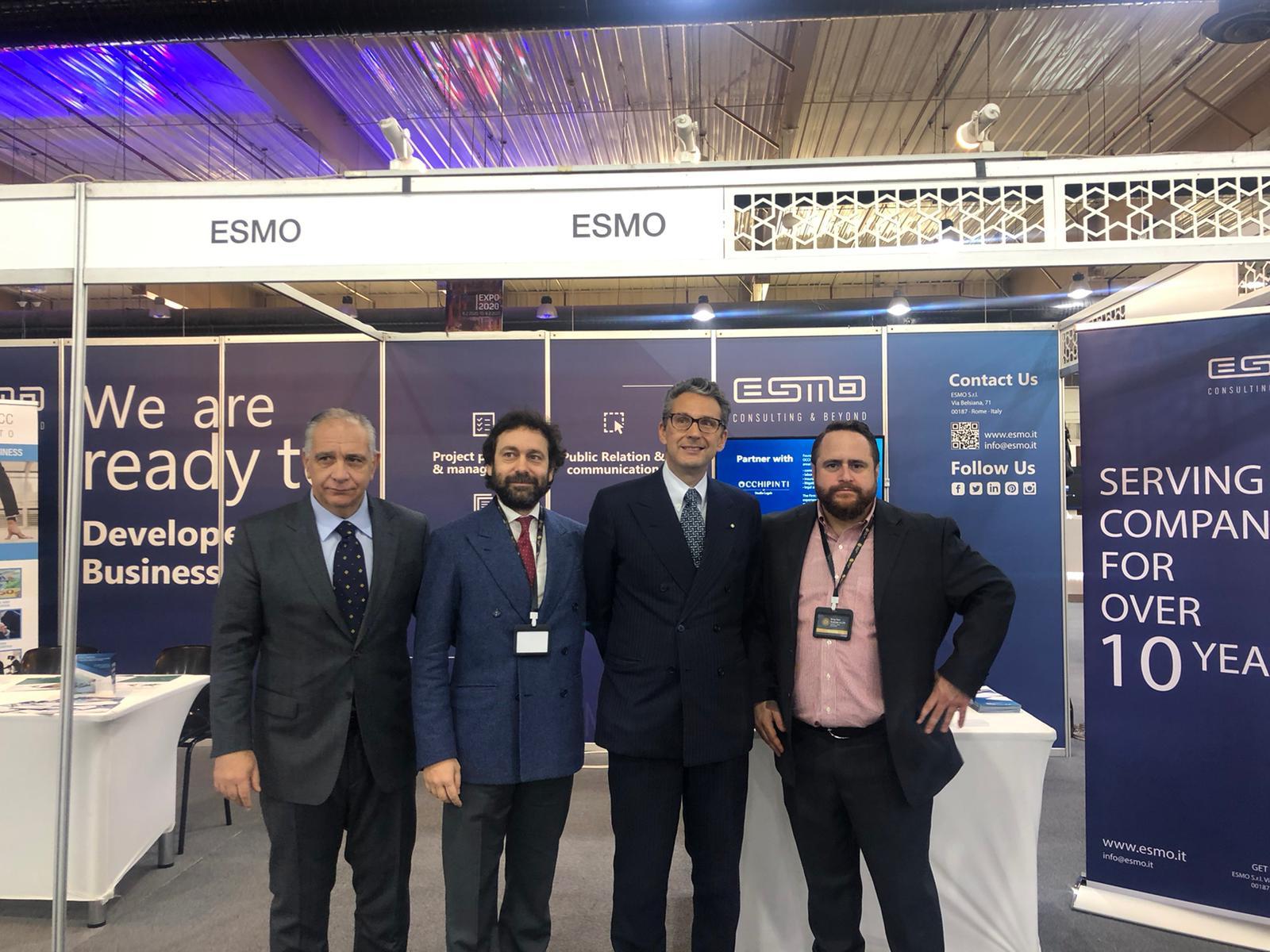 """Al via l'expo 2020 Italy-Kuwait, Lamberto Mattei: """"l'importanza della sinergia per le piccole e medie imprese"""""""