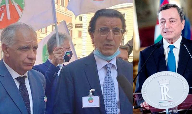 """Dl sostegno, il Movimento Aut. e P.Iva Lazio scrive a Draghi: """"urge modifica al calcolo indennizzi"""""""