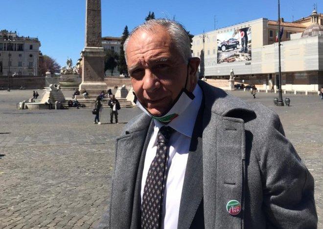 """La voce del popolo in piazza a Roma, Mattei: """"servono iniziative per garantire ripartenza alle attività"""""""